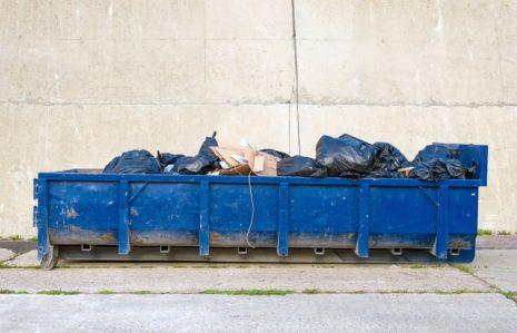 40 foot dumpster in Ontario, California.